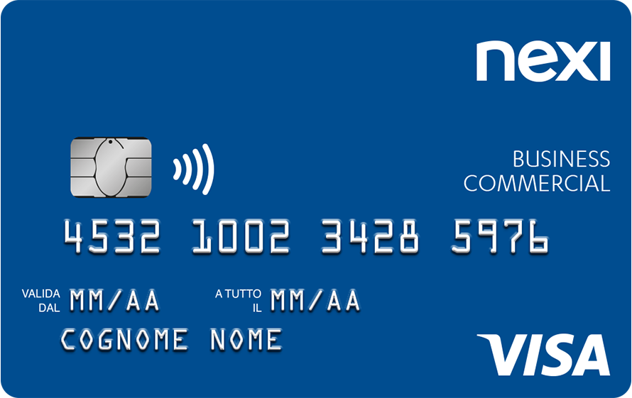 Carta di credito Nexi Business