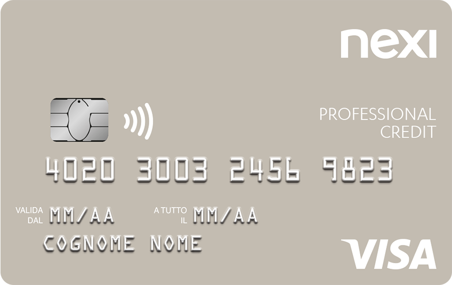 Nexi Professional Credit Card