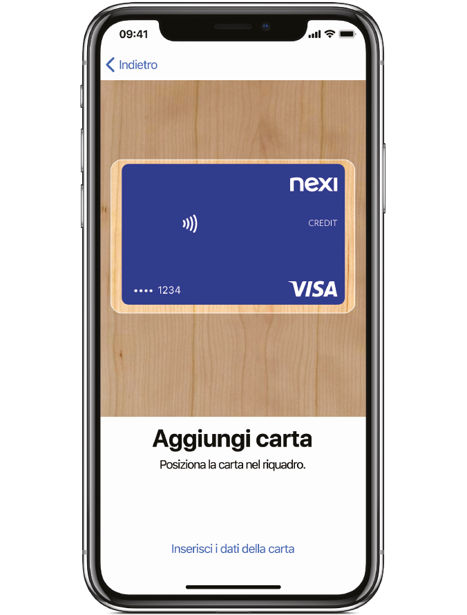 Configura Apple Pay