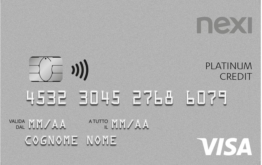 Carta di credito platinum spese sicure e vantaggi per la for Carta di credito per minorenni