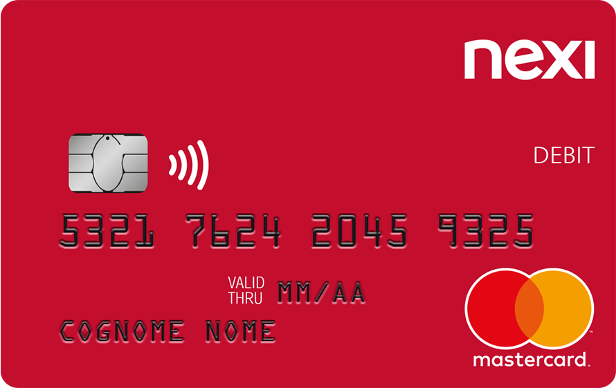 Nexi Debit International Card Debit