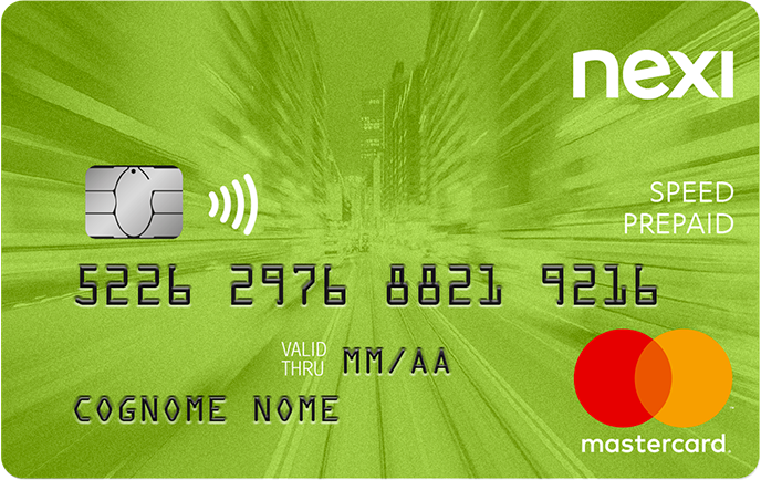 Prepaid card Nexi Speed