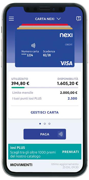 lapp nexi pay da app store o da google play